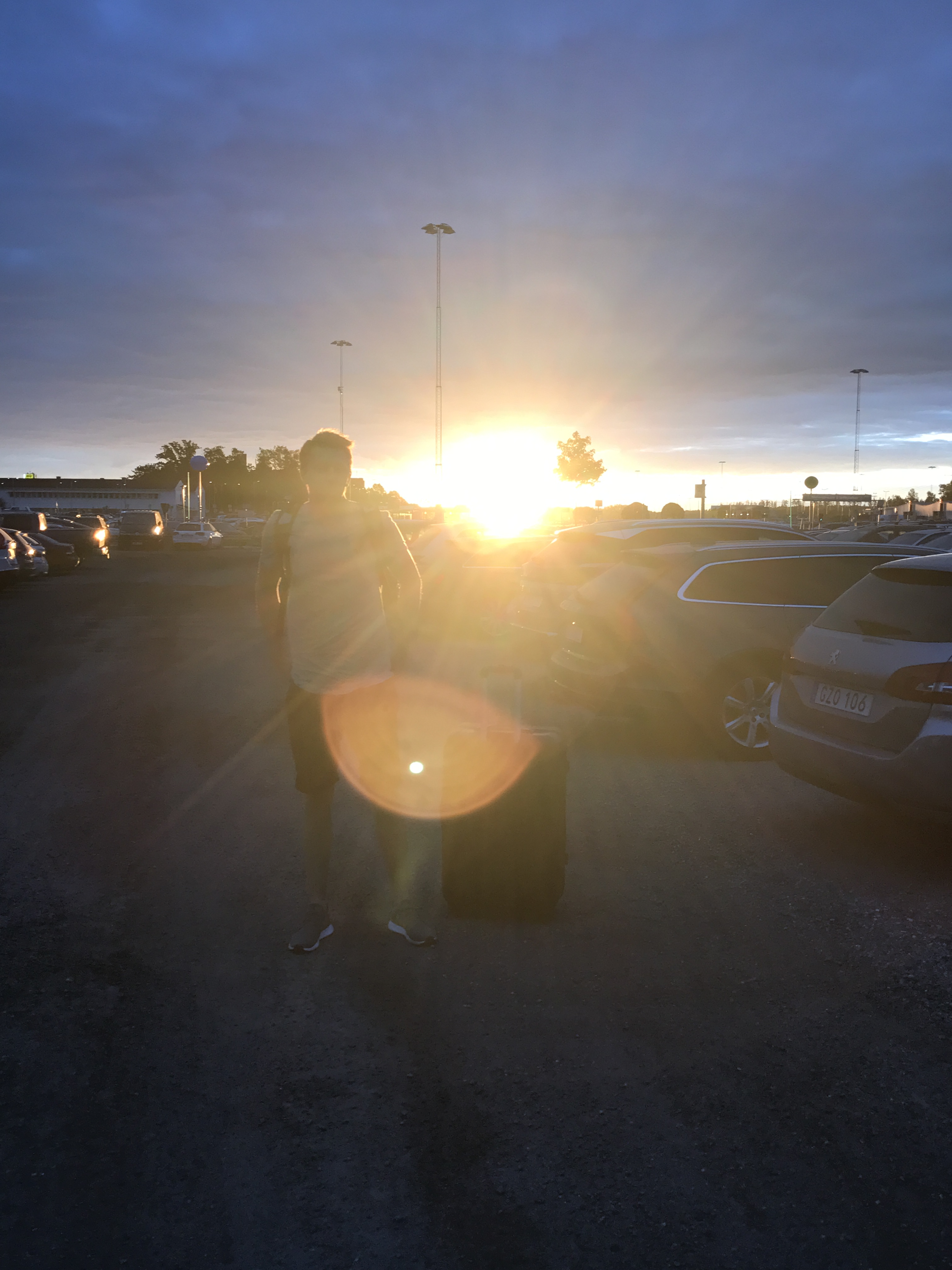 Parkering Beta Arlanda