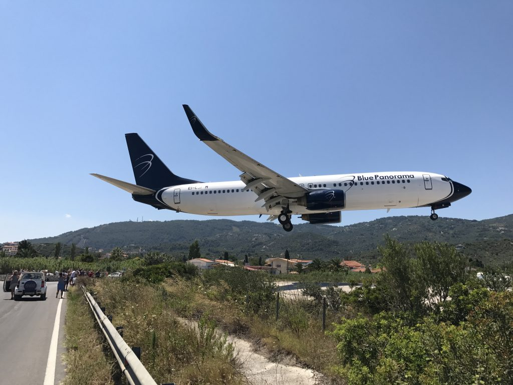 Flightspotting Skiathos