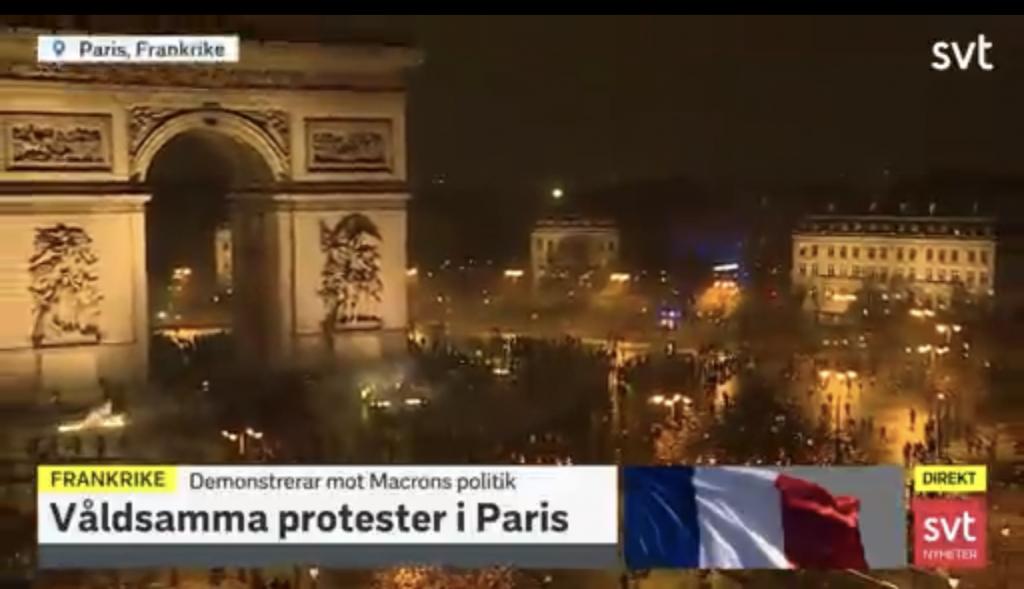 Ett sargat Paris