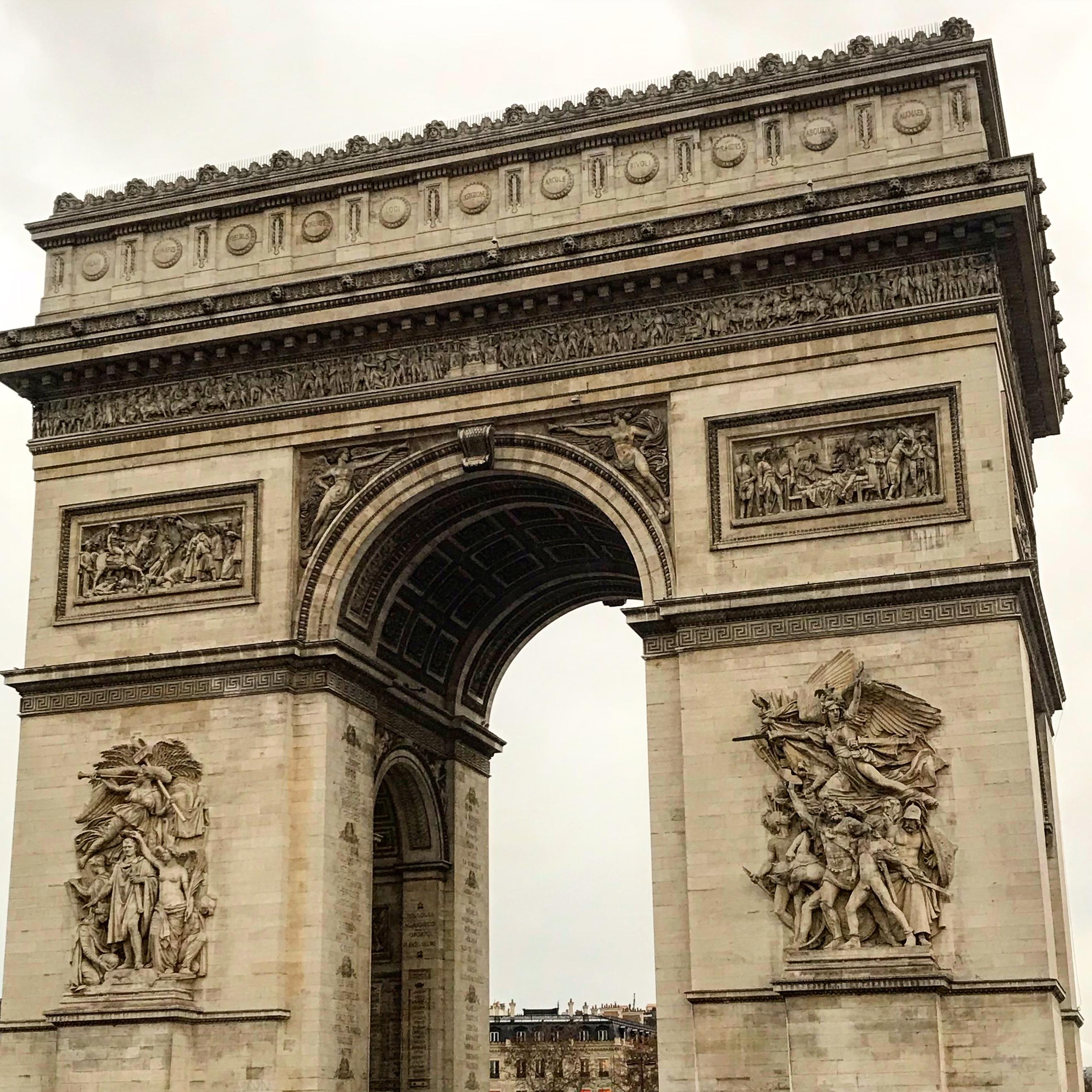 Paris dagen efter kravallerna