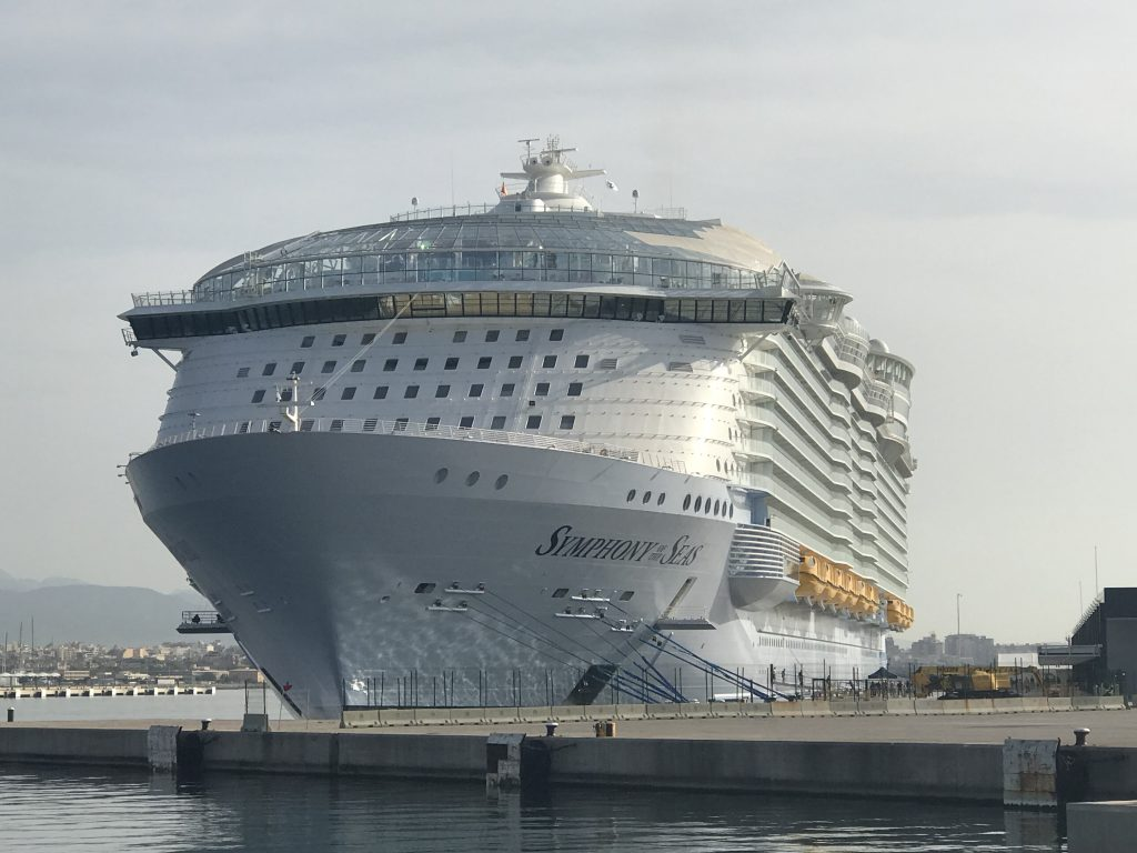Symphony of the seas i Palma hamn