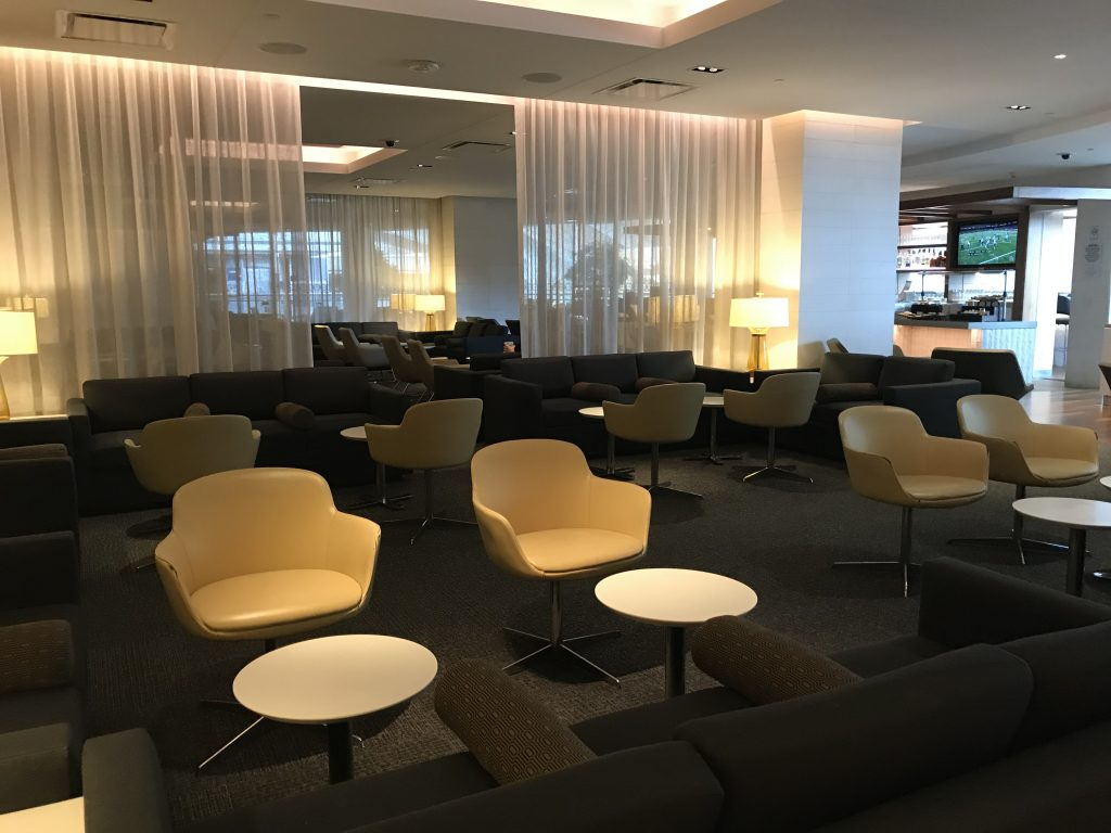 Star Alliance Gold lounge LAX