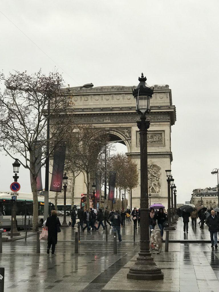Triumfbågen Paris