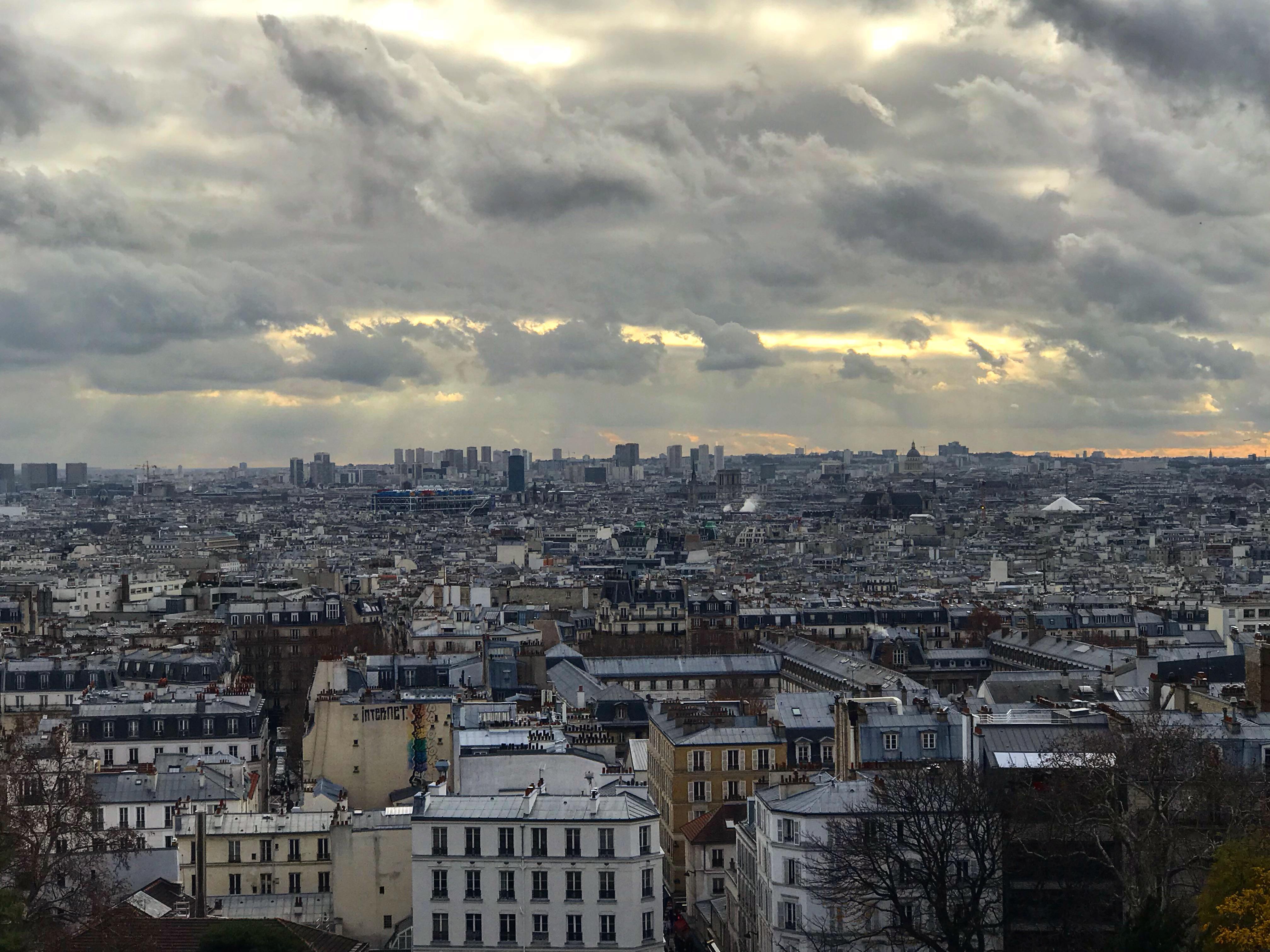 Paris utsikt