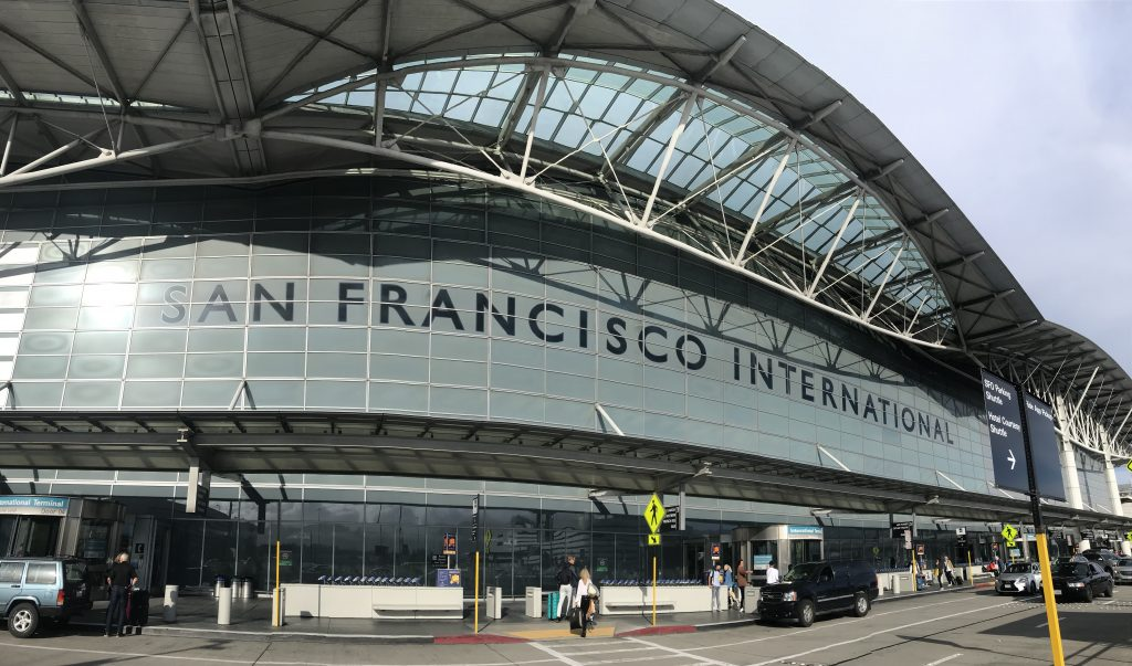 SFO San Francisco International airport