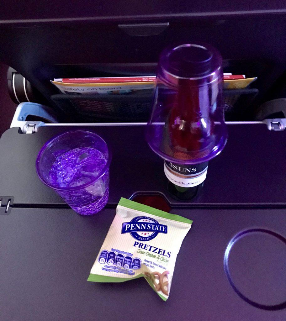 Virgin Atlantic food & beverages