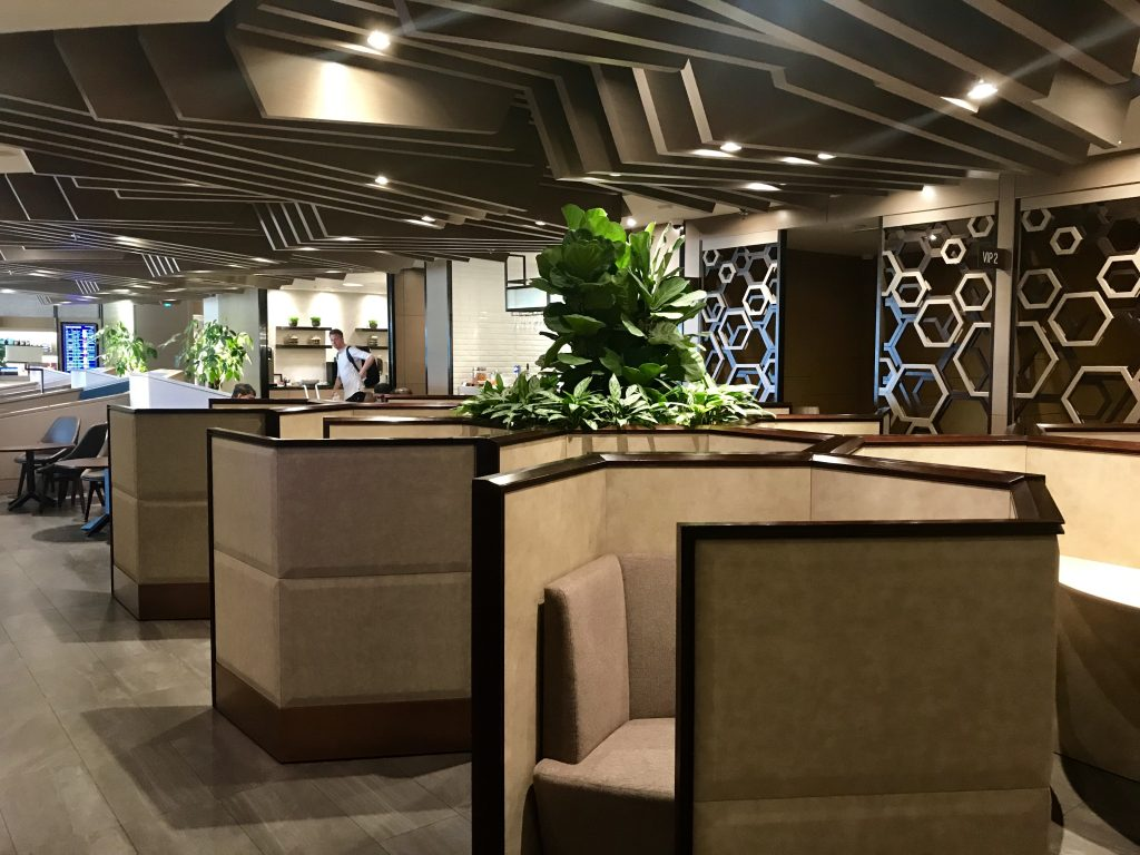 Plaza Premium lounge Changi Singapore