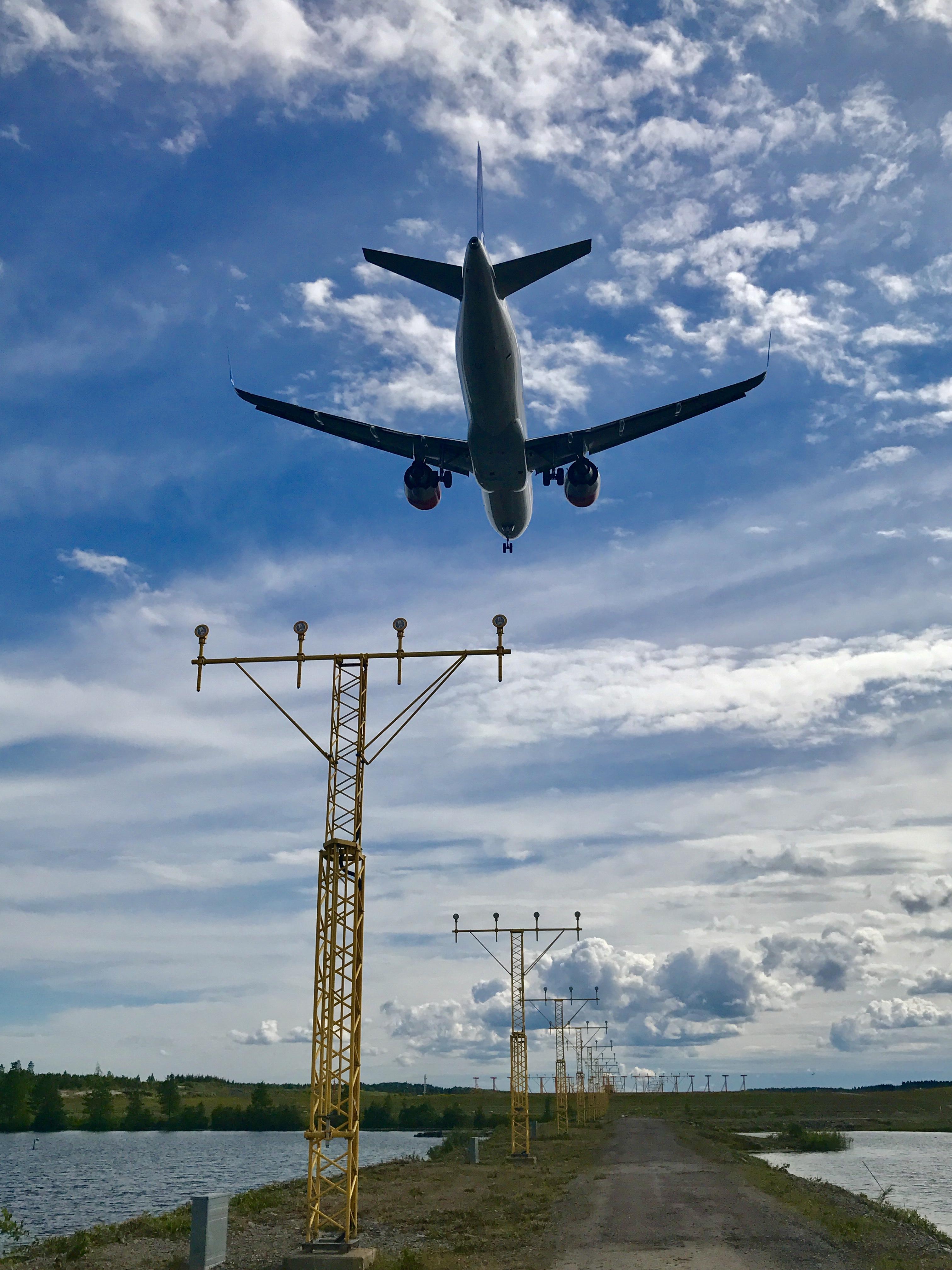 Flightspotting Arlanda