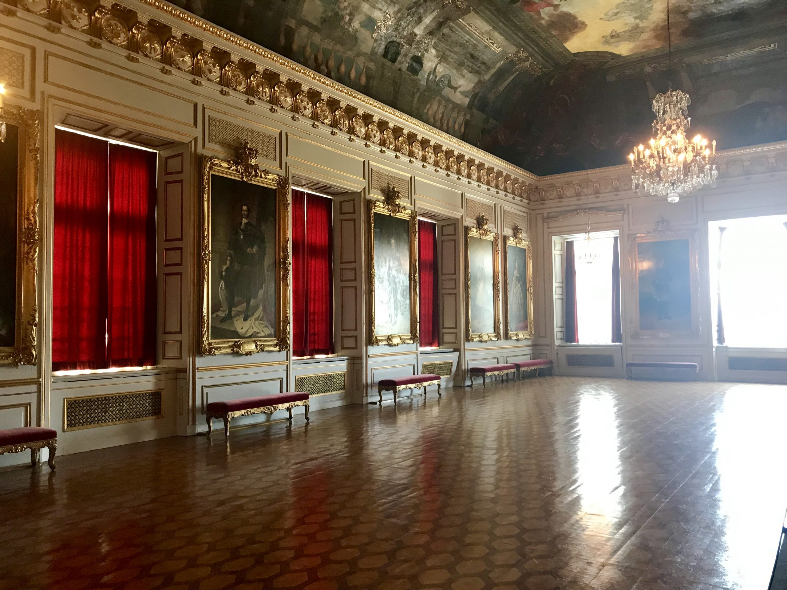 Drottningholms slott, Rikssalen