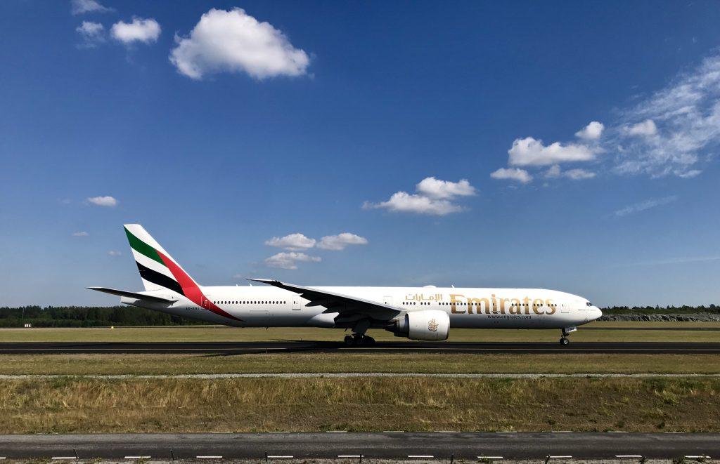 Emirates Arlanda Flightspotting