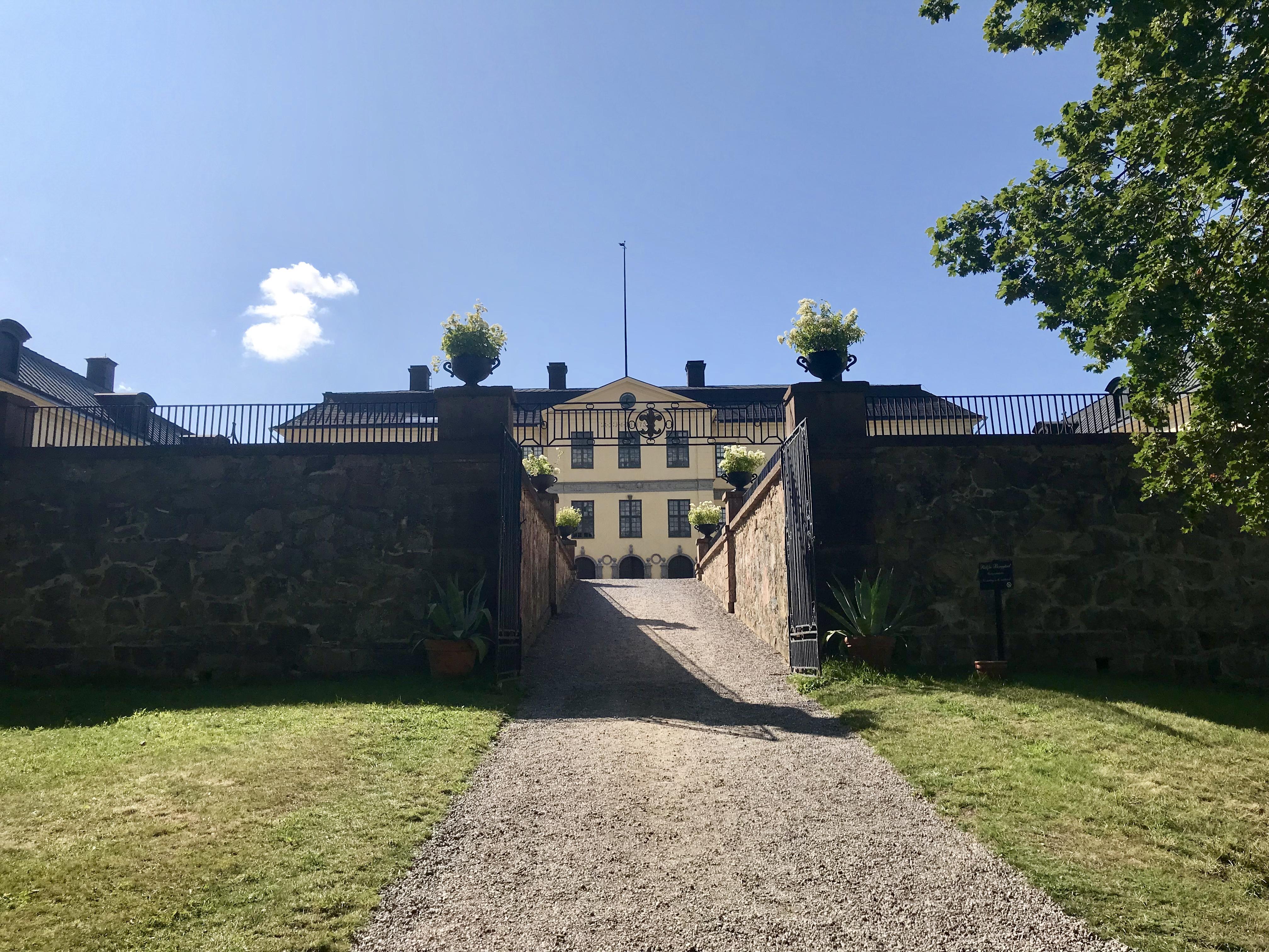Resesommaren 2019 Löfstad slott