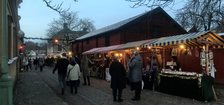 Julmarknad i Gamla Linköping
