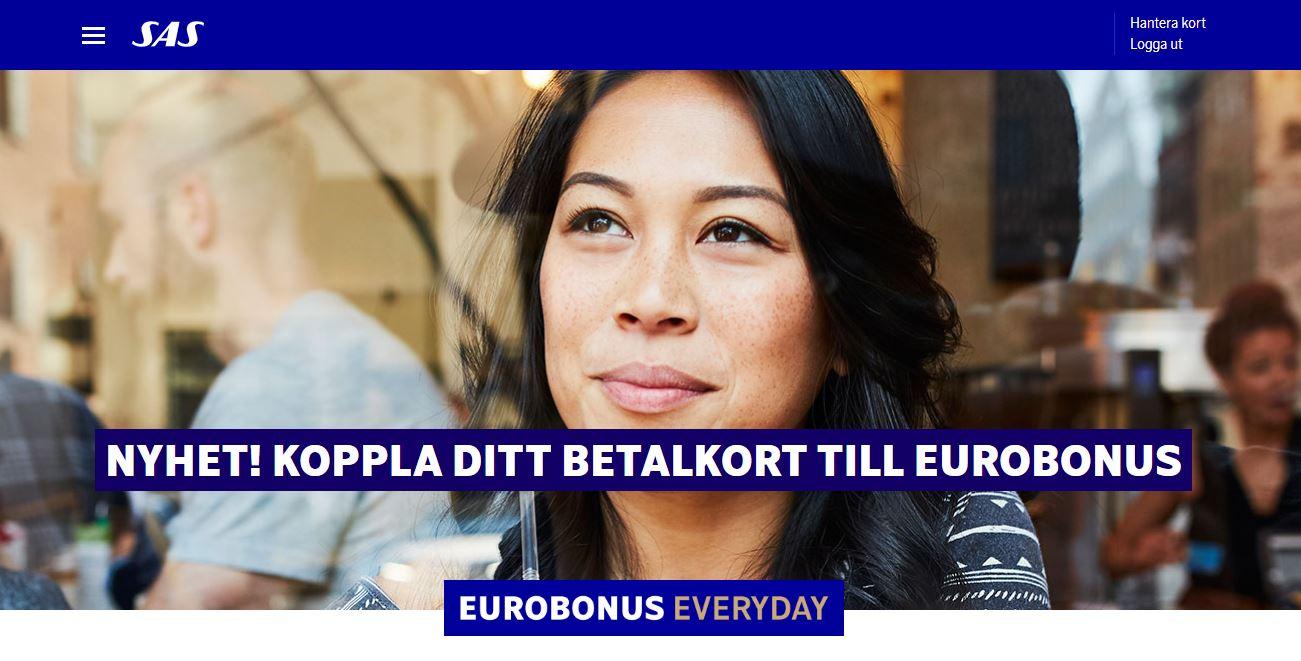 Koppla betalkort Eurobonus