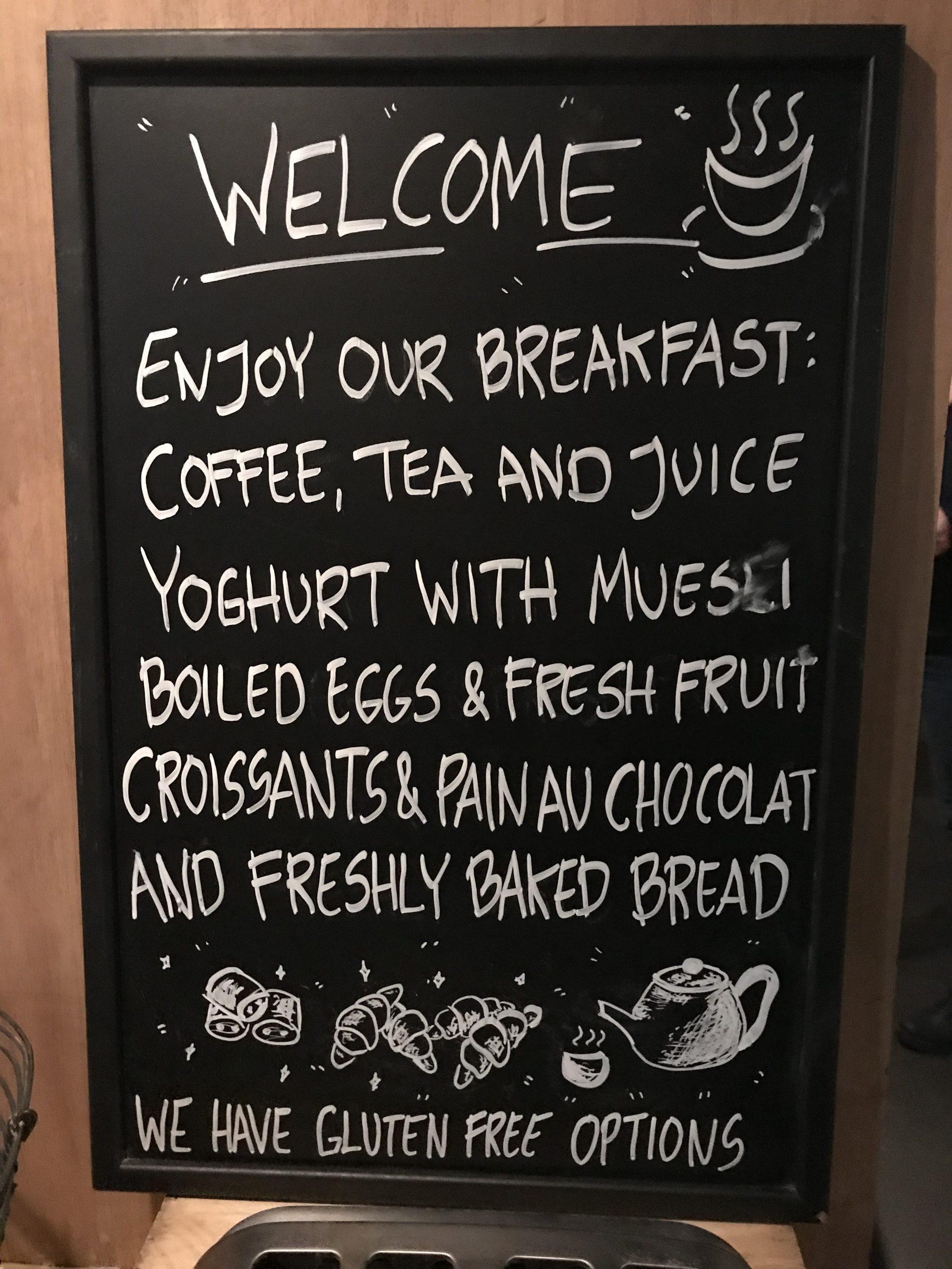 Frukost Story hotel
