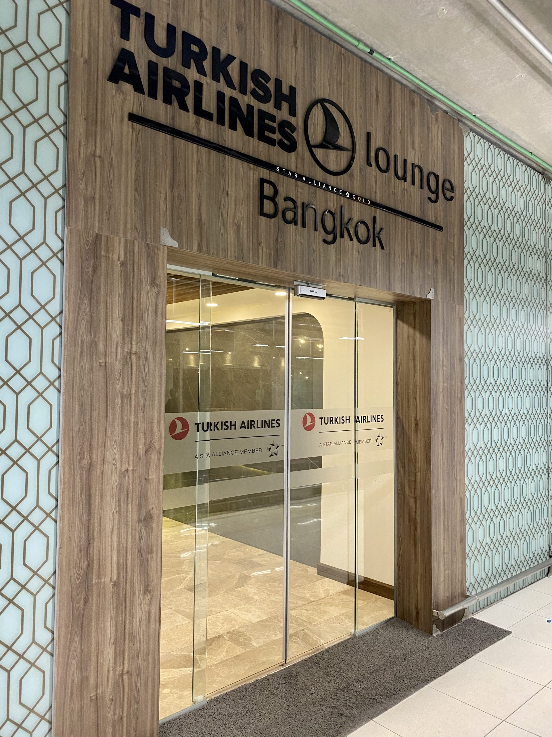 Turkish Airlines Lounge Bangkok