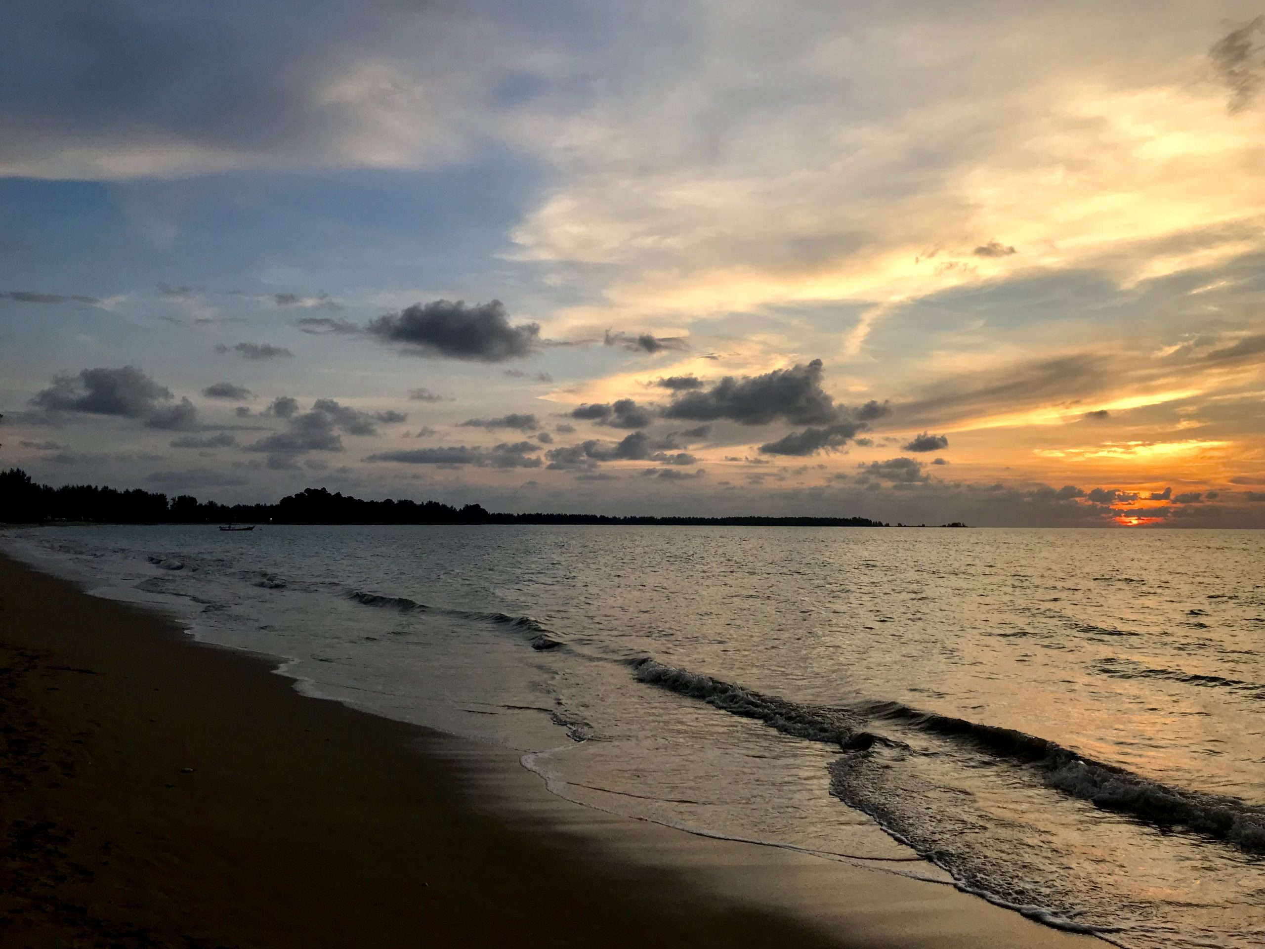 Havet och solen Khao Lak