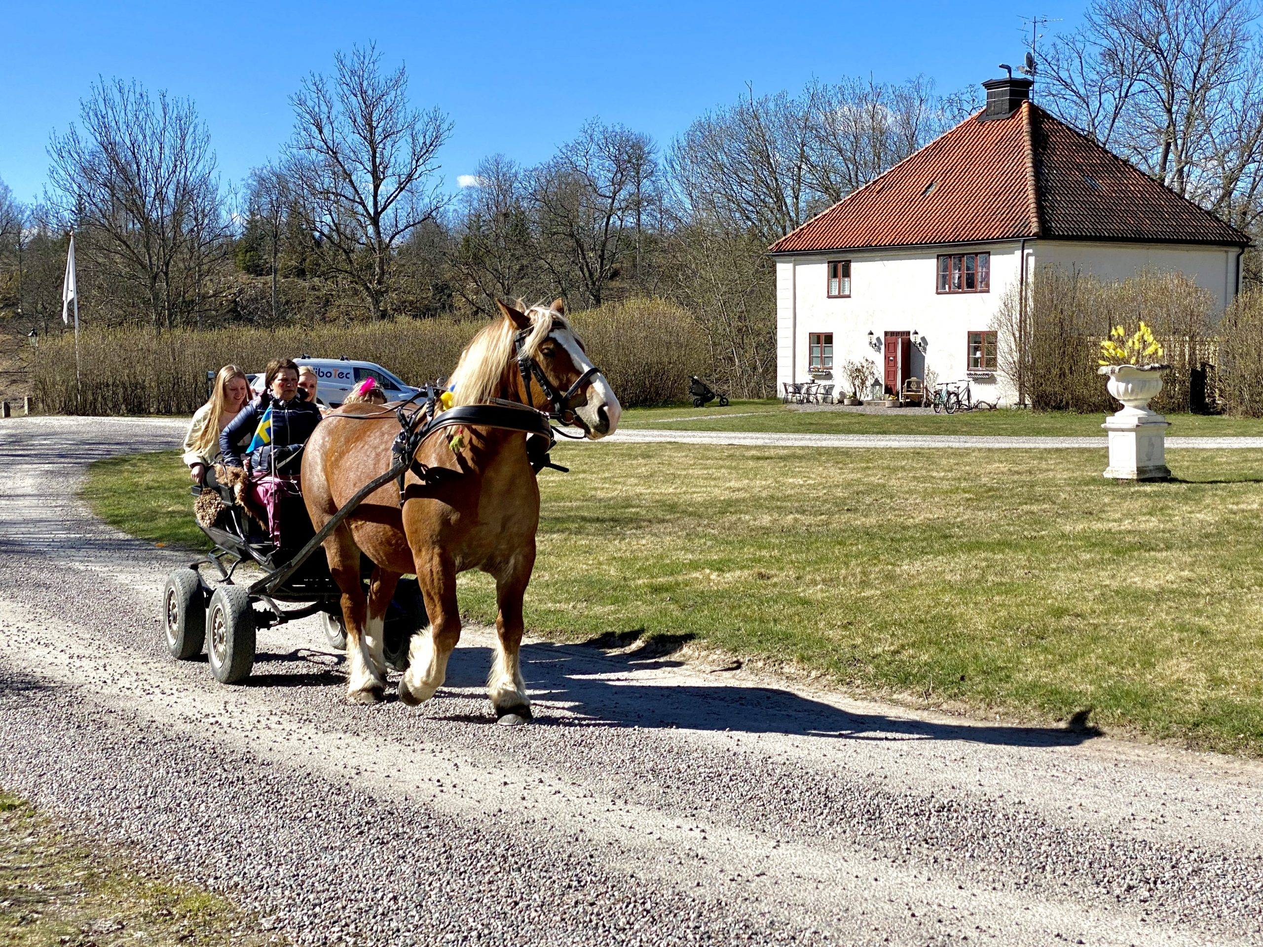 Påsklovskul på Husby Säteri