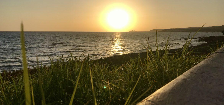 Solnedgång Meloneras