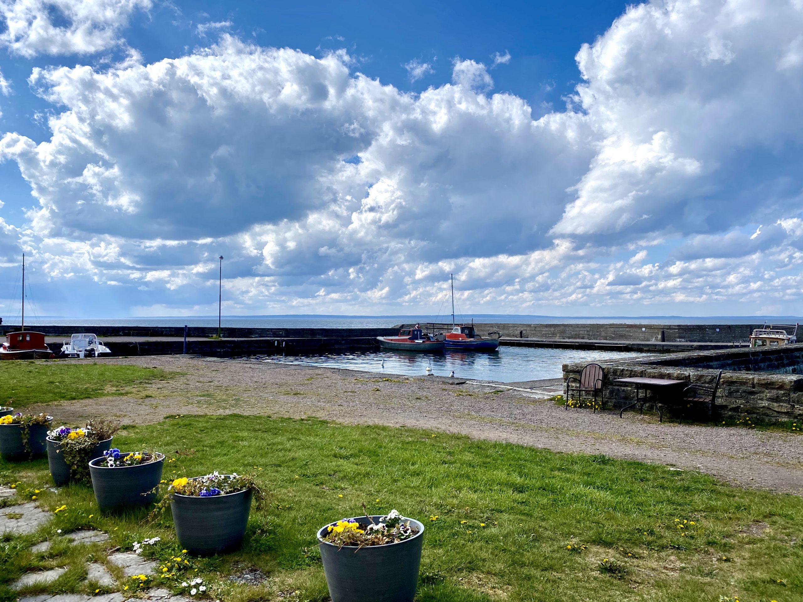Sevärdheter runt Vättern Borghamns strand