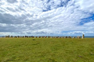 Utflyktsmål i södra Skåne Ales stenar
