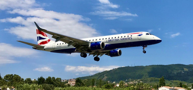 Flightspotting på Skiathos
