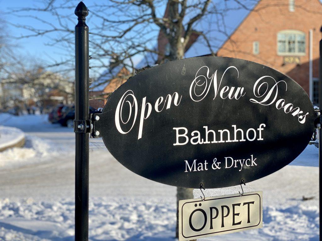 Open new doors Banhof