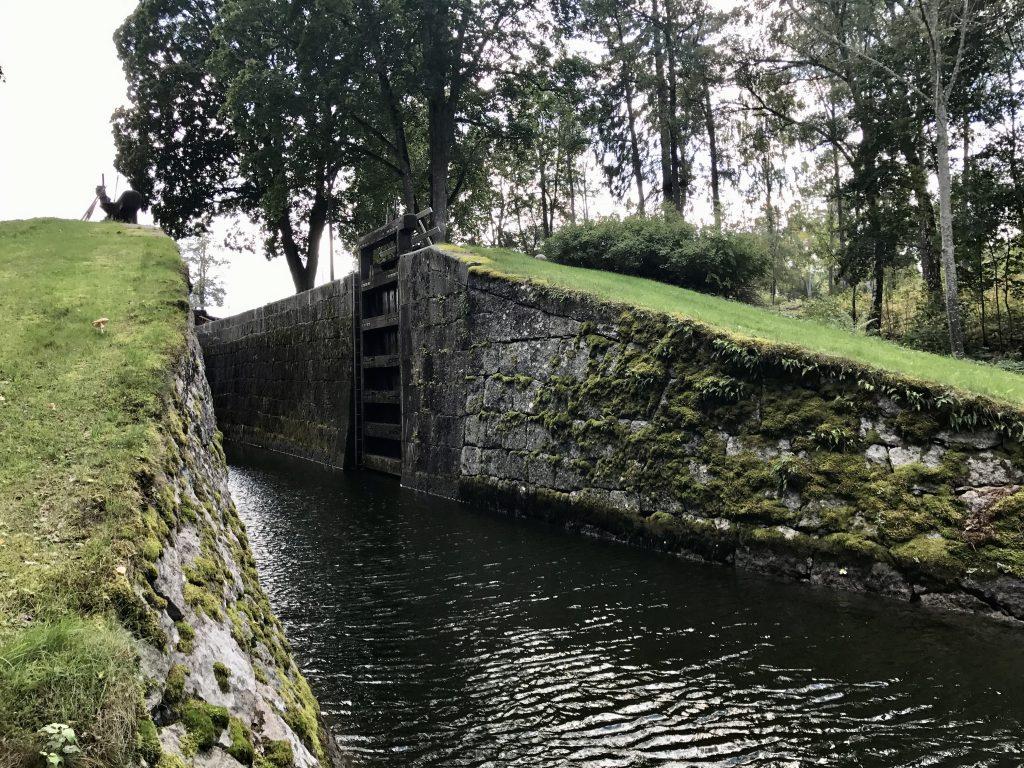 Hovetorps slussar Kinda kanal