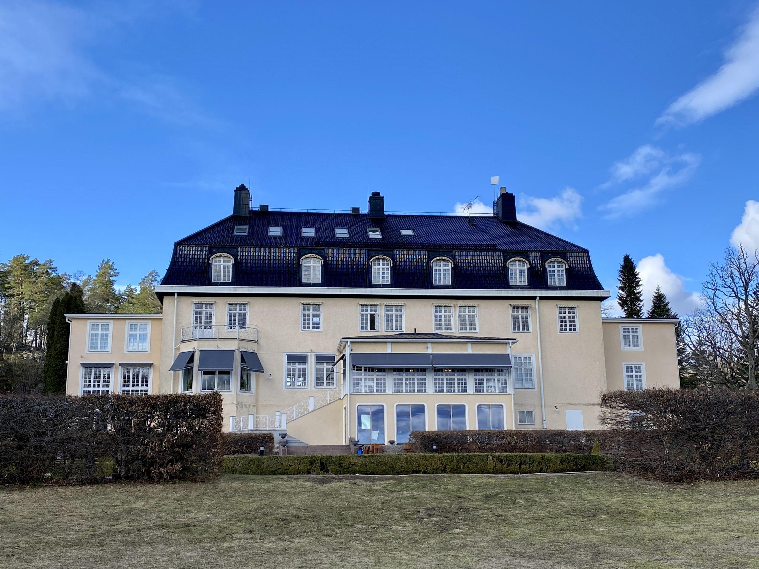 Villa Fridhem check in kontor