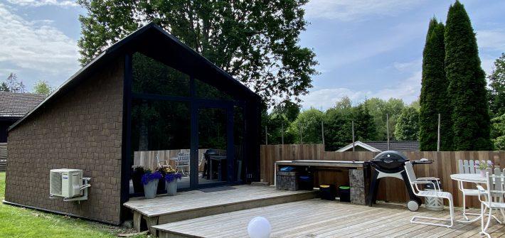 Airbnb Borås Tinyhouse